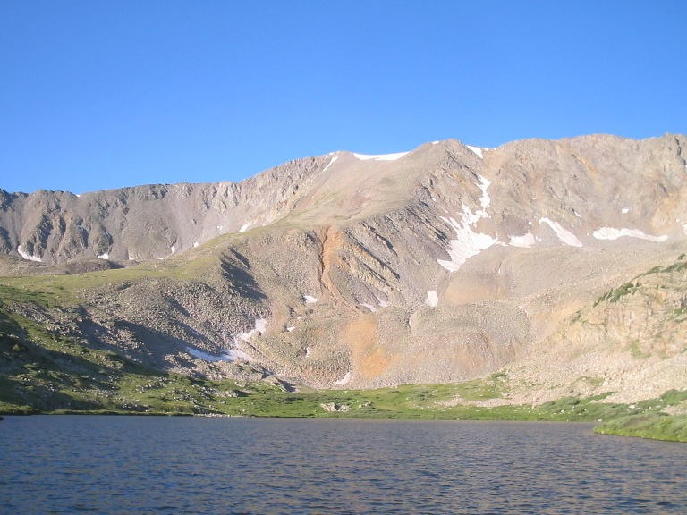 Grizzly Mtn above Baldwin Lake