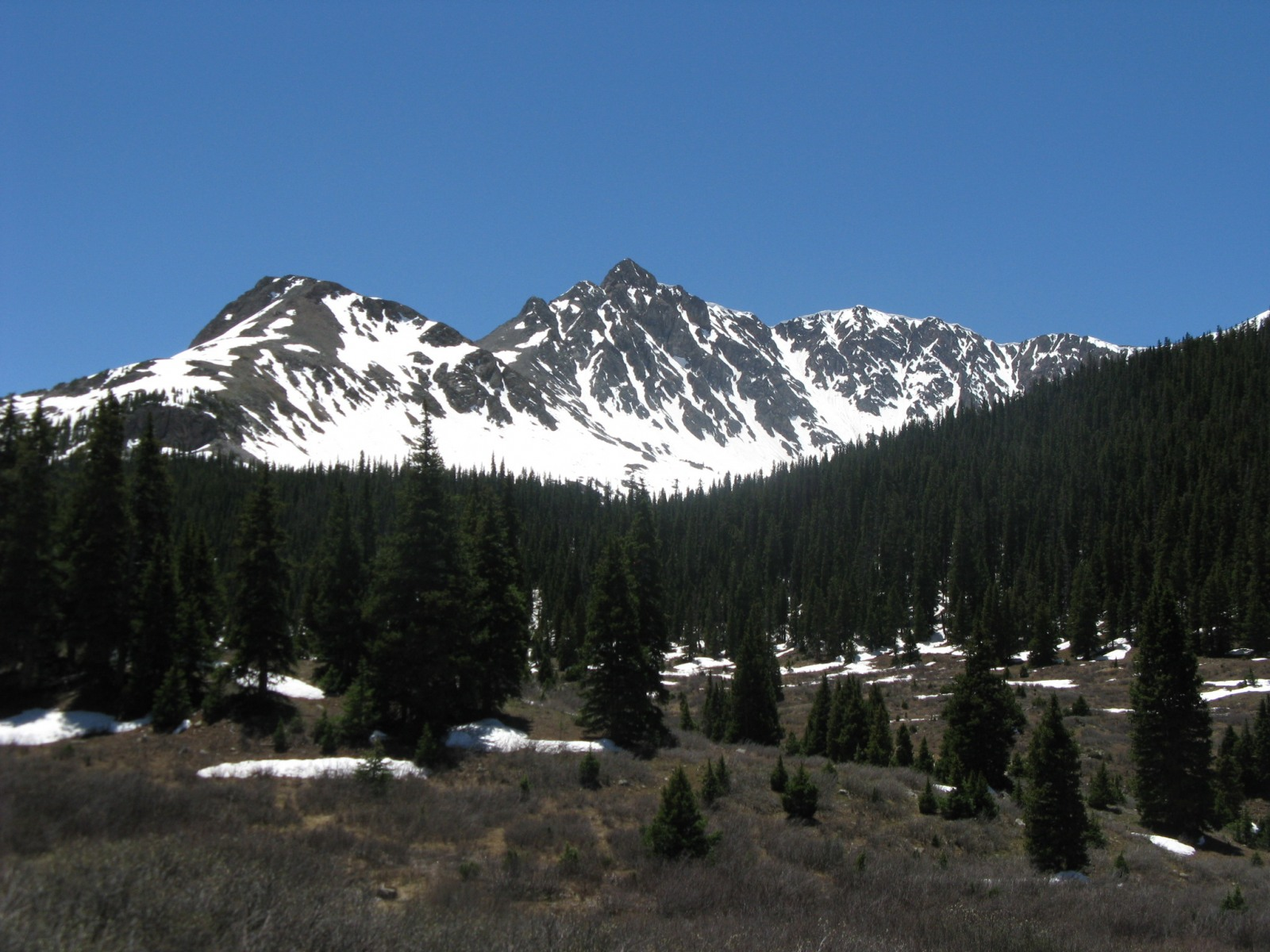 Anderson from Lincoln Gulch road above Grizzly Reservoir