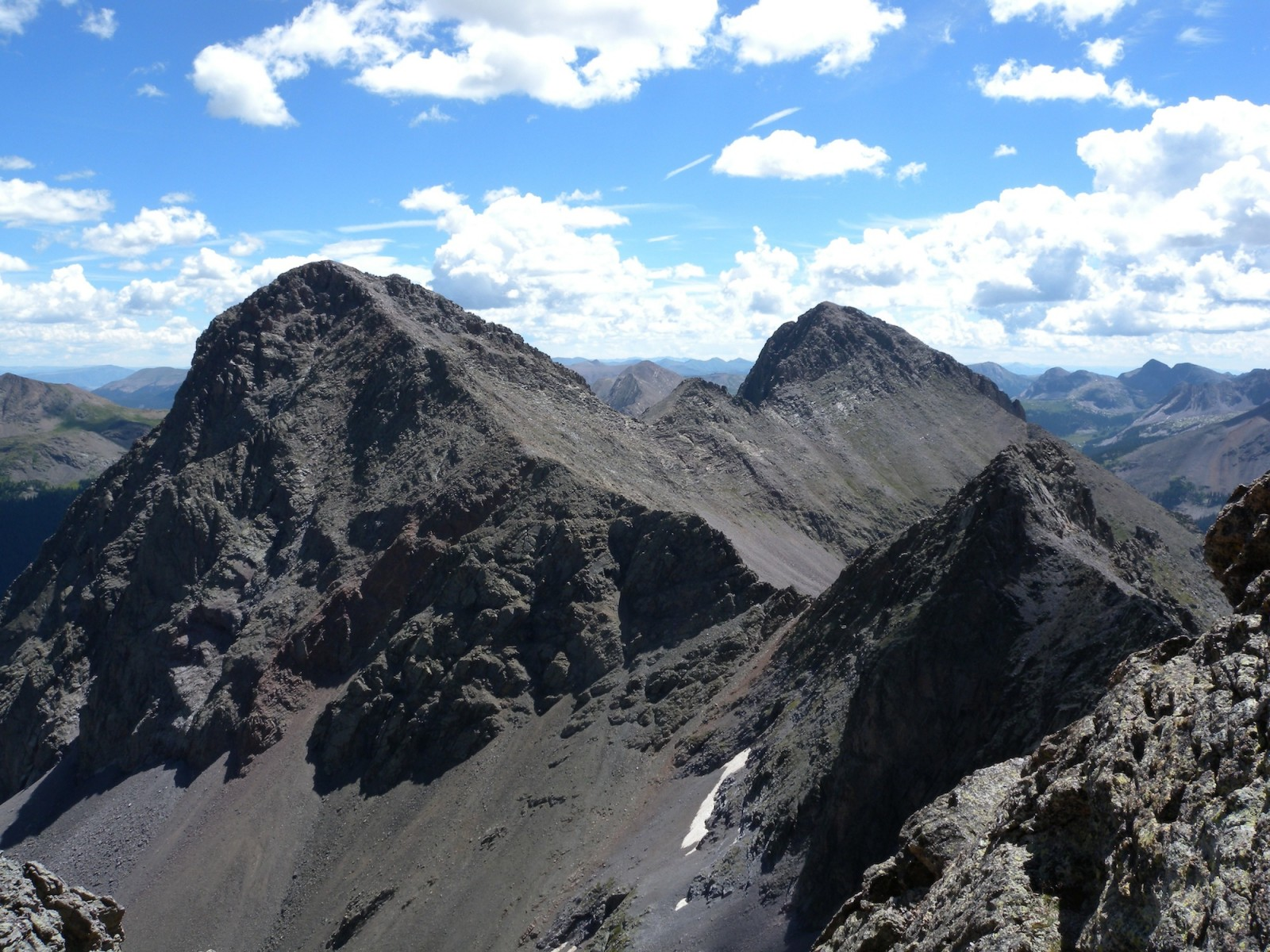 Mt. Silex (left) and The Guardian (right)