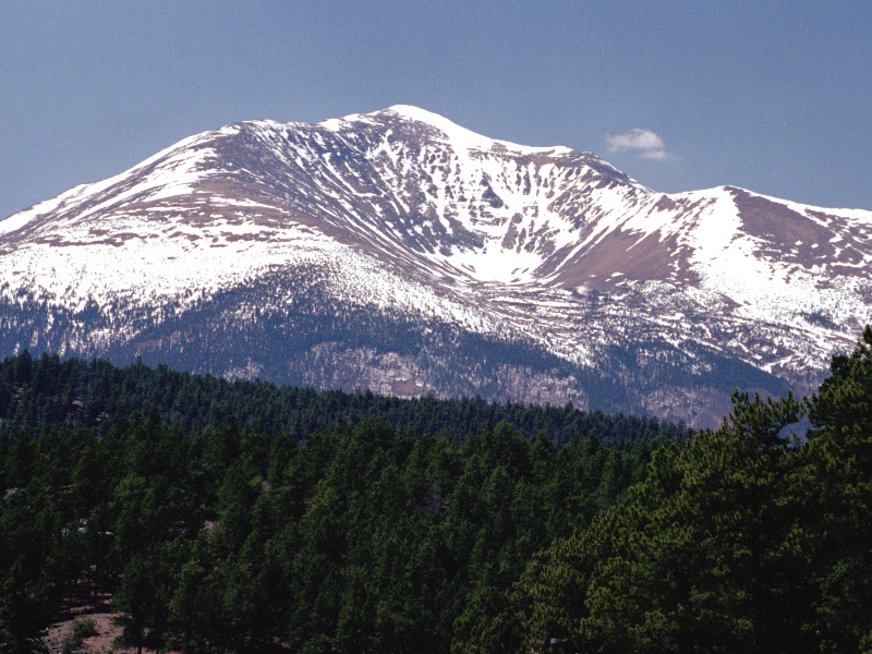 Mt. Ouray seen from U.S. 285 on Poncha Pass