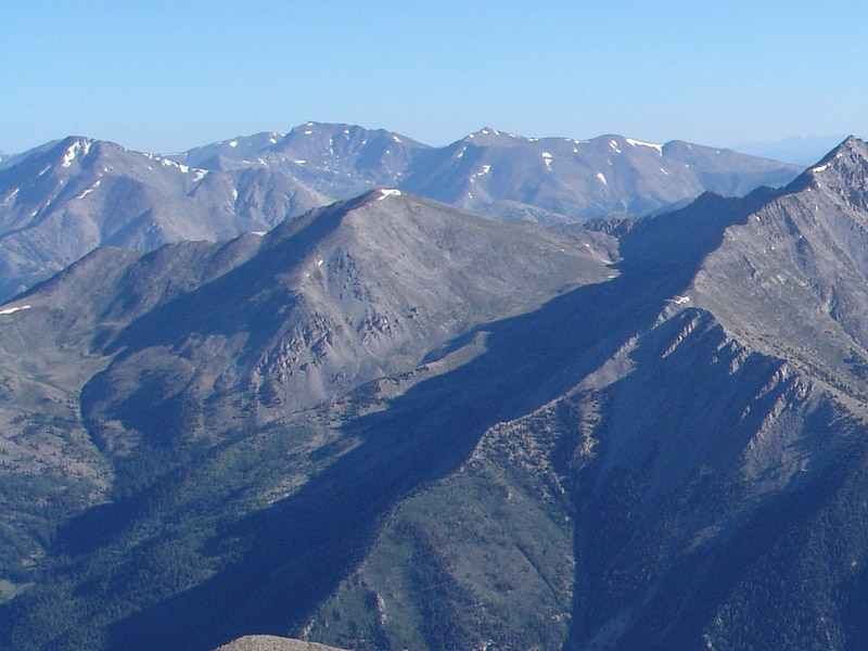 Unnamed 13626 seen from Mt. Antero.