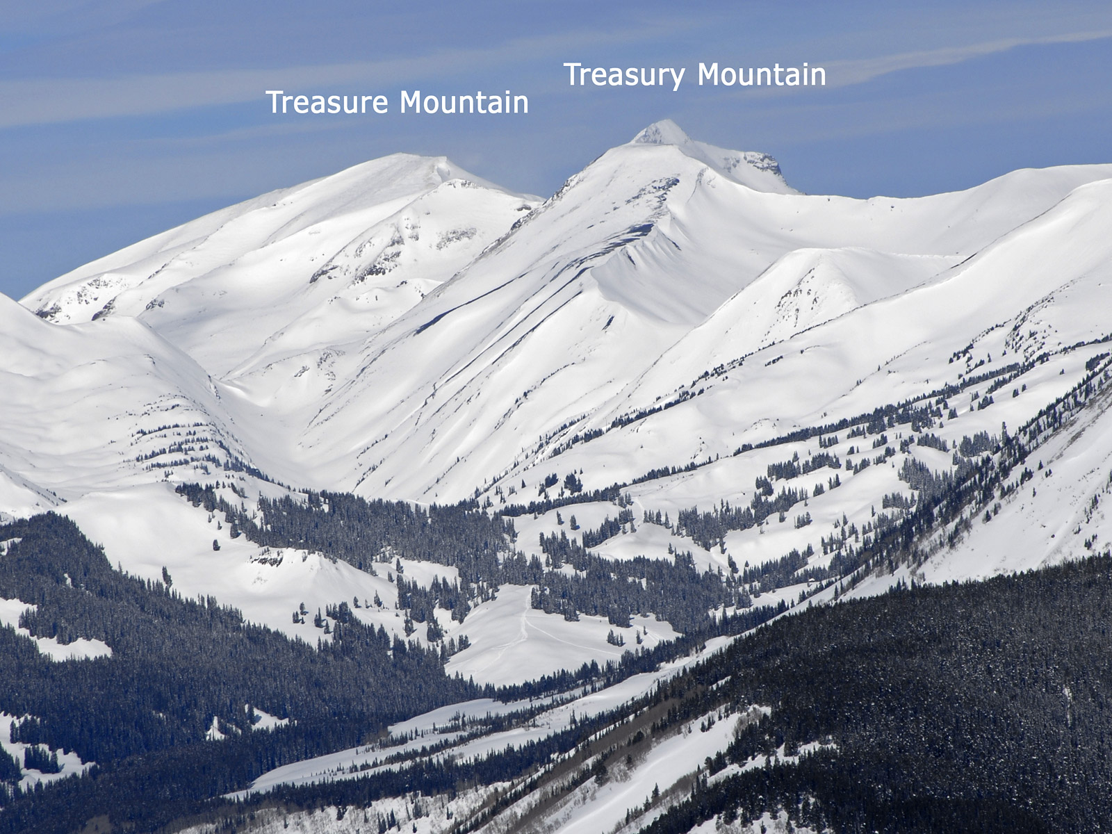 Treasury Mountain