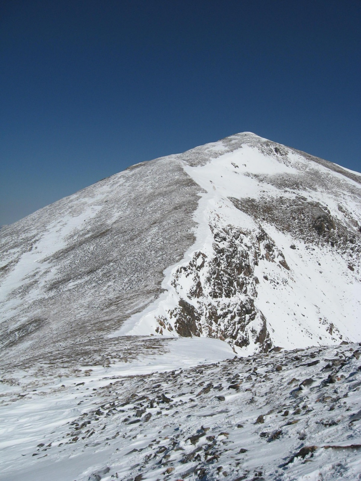 Parry Peak viewed from the southeast