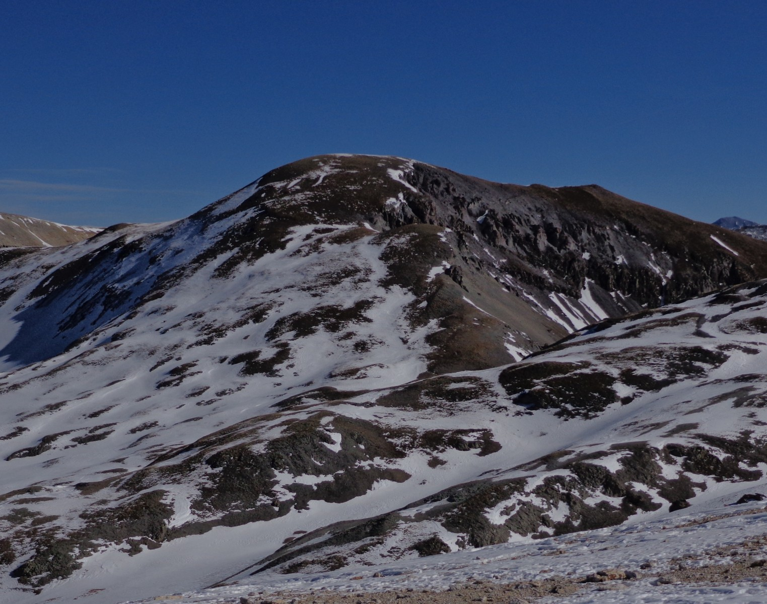 """T 7"" seen from Imogene Pass"