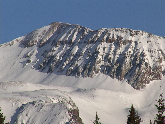 Beattie Peak from the west.