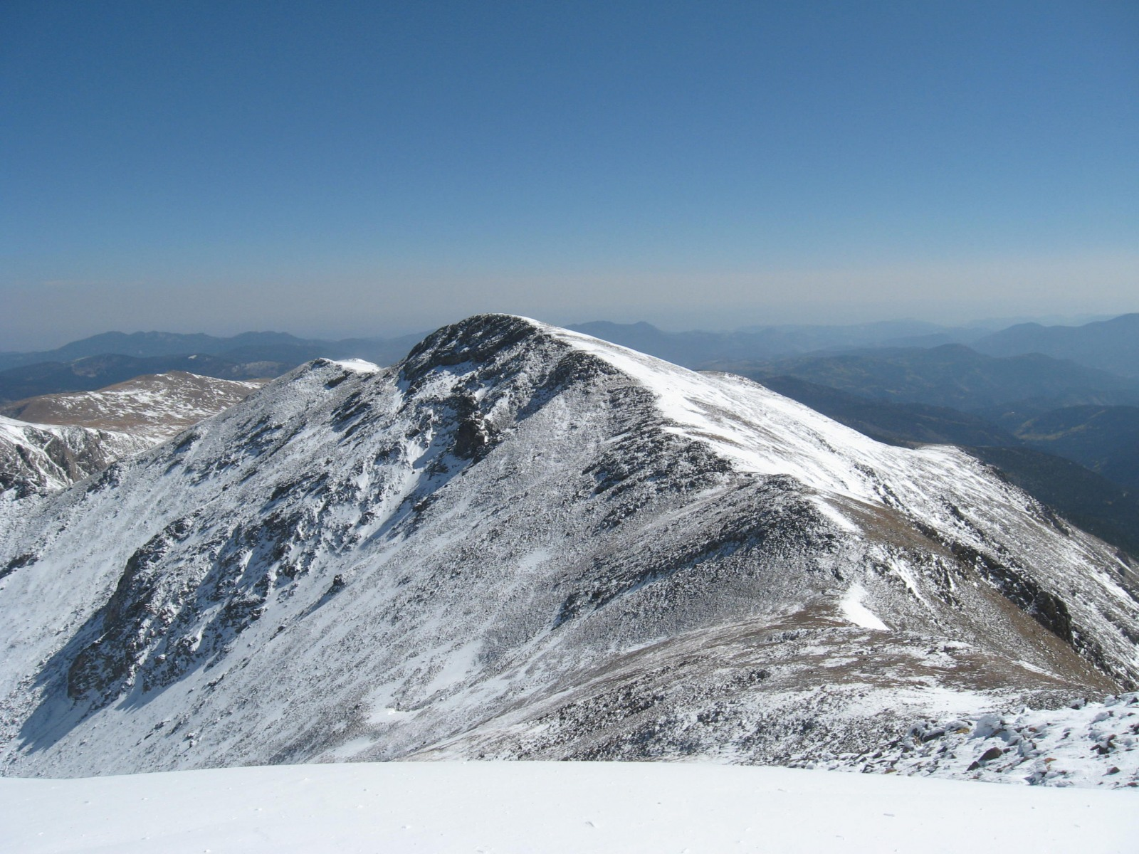 Mt. Bancroft viewed from Parry Peak
