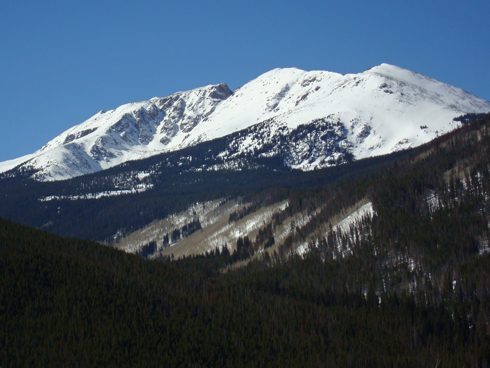 Notch Mountain seen from the northeast.