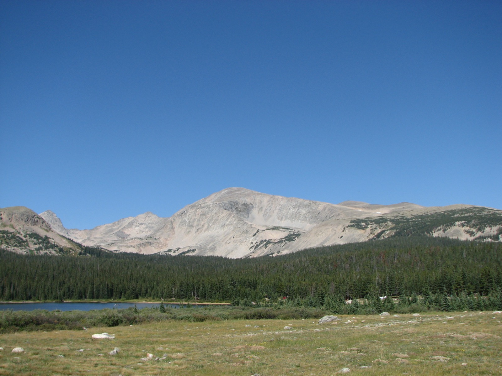 Picture of Mt. Audubon taken from southeast of Brainard Lake