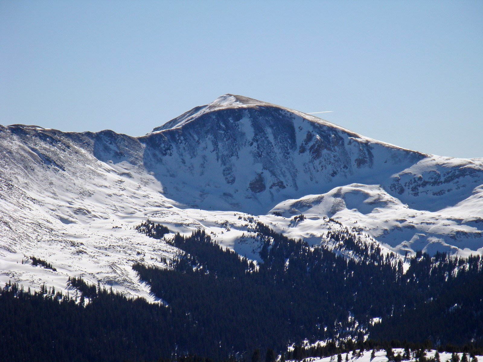 Jones Mountain seen from Cottonwood Pass.