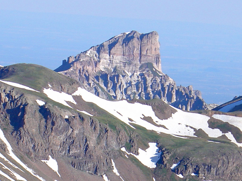 Precipice Peak from Uncompahgre Peak
