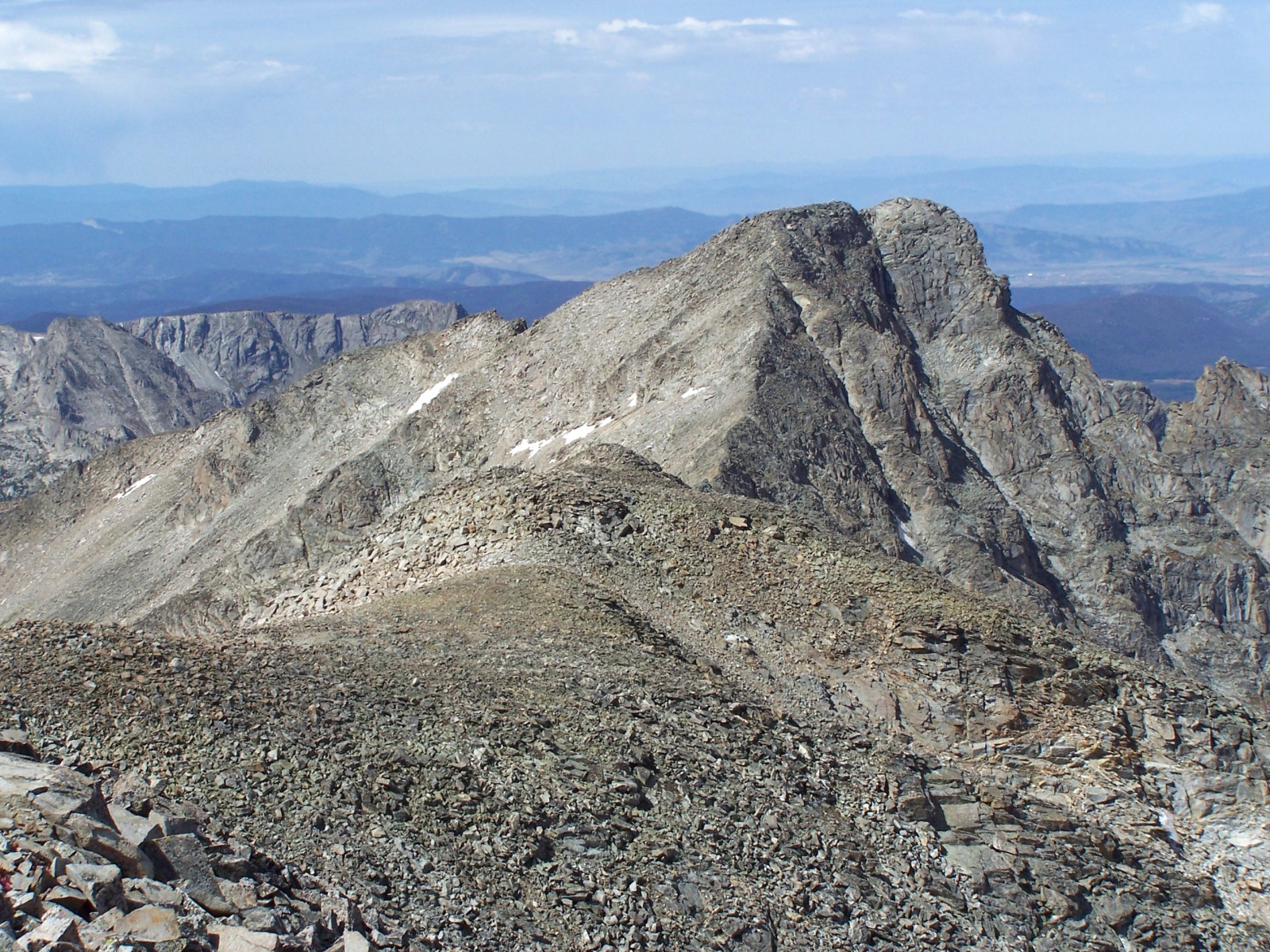 Paiute Peak as seen from the summit of Audubon
