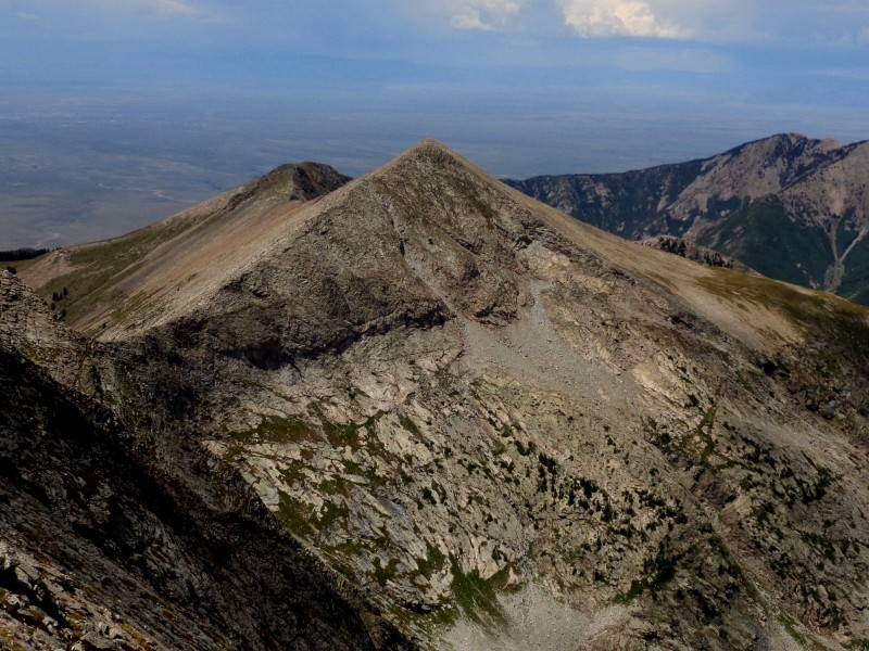 "UN 13050 ""Dead Man Peak"" seen from Cleveland Peak"
