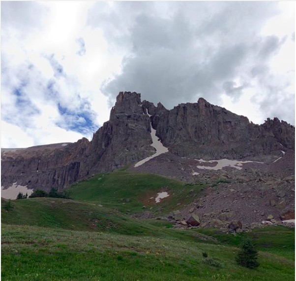 Mendotta Couloir from Governor Basin